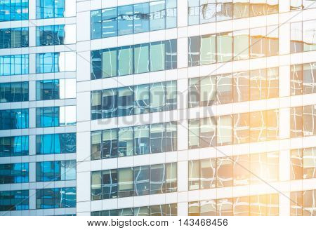 Reflections In Office Building