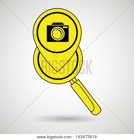 search pin app internet vector illustration graphic