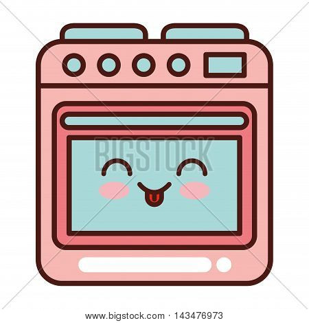 kitchen appliance electric isolated icon vector illustration design