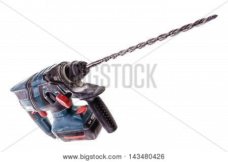 Rotary Hammer With Long Bit