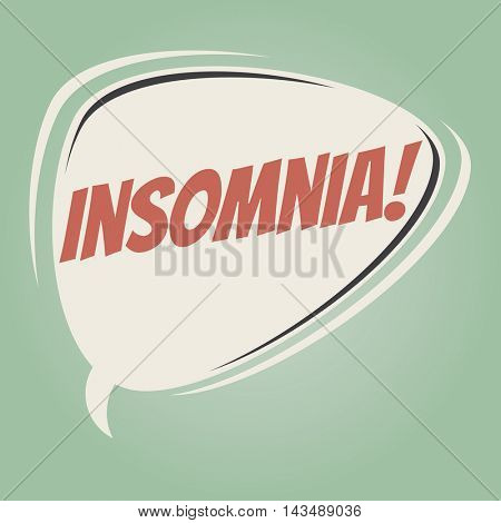 insomnia retro speech balloon