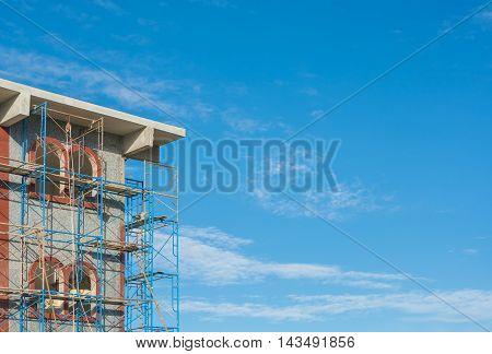 Modern Apartments (condo) Under Construction .