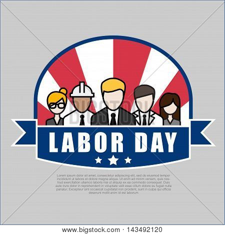 Group of People Different Occupation Set International Labor Day Flat Vector Illustration