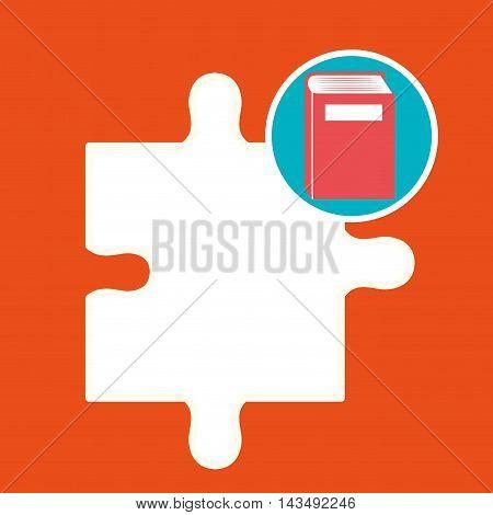 book literature library icon vector illustration design