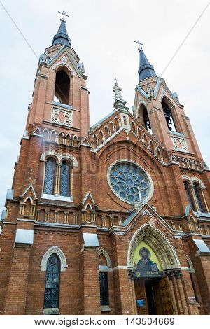 Church of the Holy Cross - the Catholic Church in the city of Tambov