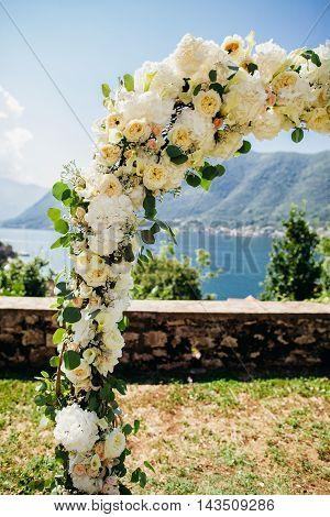 Wedding Arch With Flower Decoration
