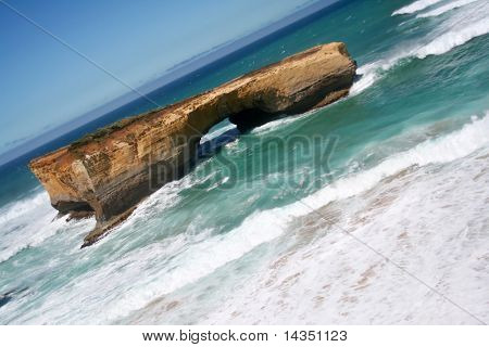 London Bridge, Great Ocean Road, Victoria, Australia.  Near the Twelve Apostles.
