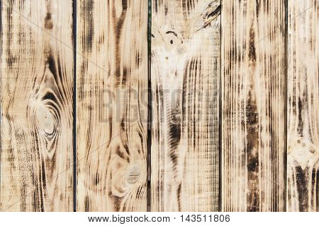 wooden planks background of burnt. old burnt boards