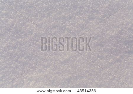 Fresh cold white snow texture for the background