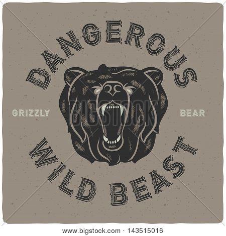 Bear Poster 01-01.eps