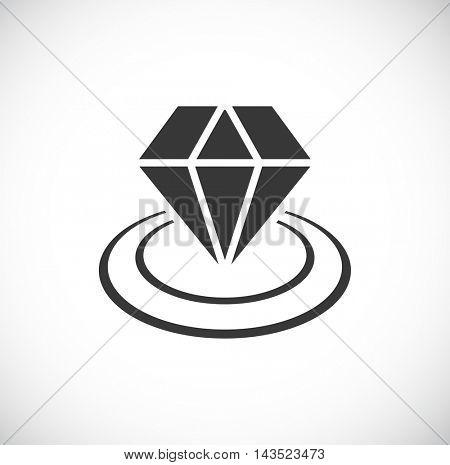 diamond icon in circles