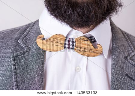 Bearded Man In A Suit