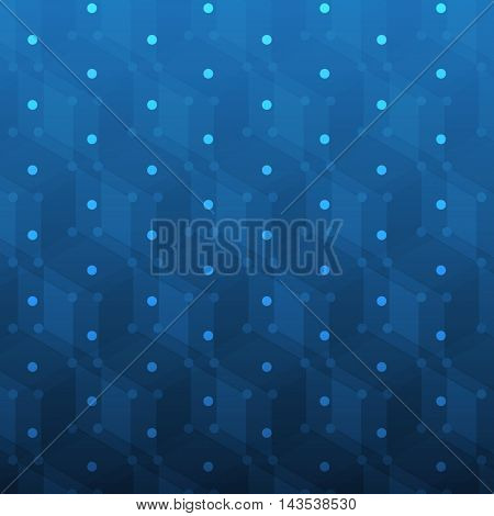 Blue Spotted Abstract Background