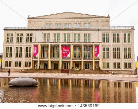 Operhaus Leipzig (hdr)