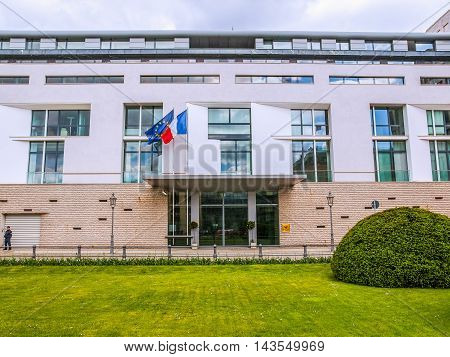 France Embassy (hdr)