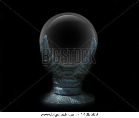 Empty Gazing Crystal Ball
