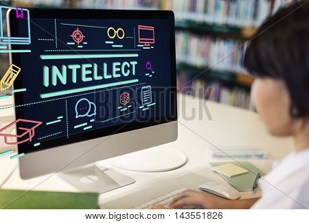 Intellect Education Expertise Information Insight Concept
