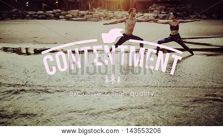 Contentment Appreciate Enjoyment Happiness Concept