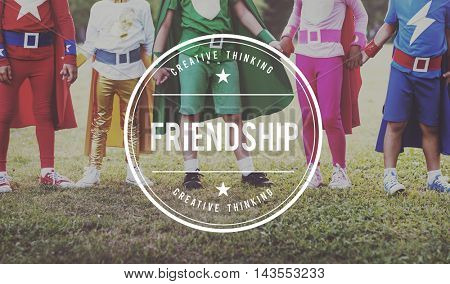 Friendship Connection Partnership Team Together Concept