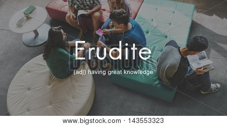 Erudite Academic Educated Intellectual Knowledgeable Concept