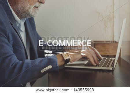 Blog Research Social Media Concept