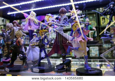 Image with figurines store . very clear and detailed image . I can see details