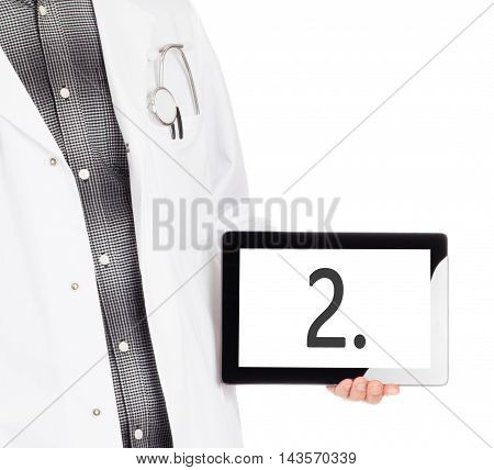 Doctor Holding Tablet - Number 2