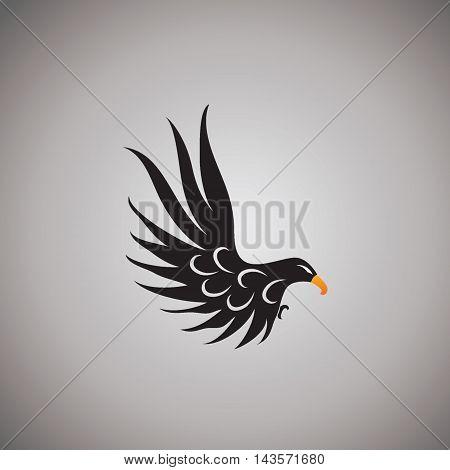 hawk ideas design vector illustration on background