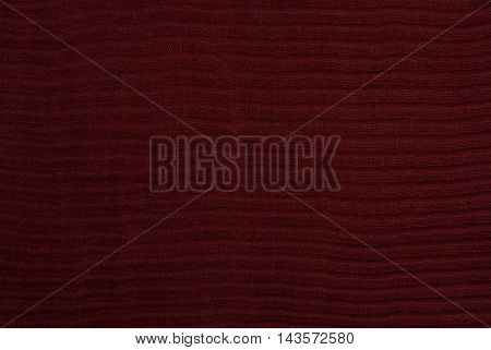 Red Folded Fabric