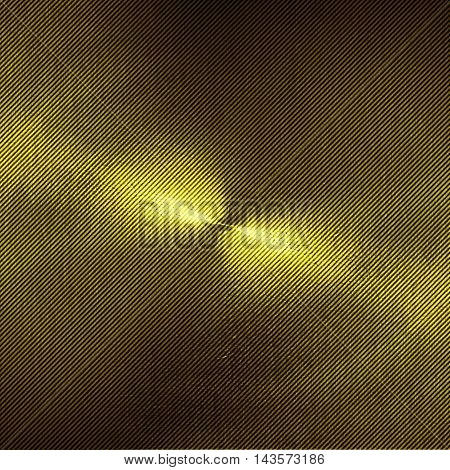 shiny gold carbon wall. gold background and texture.