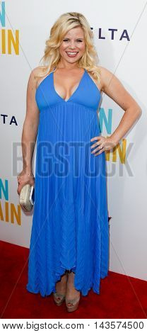 NEW YORK-JUNE 25: Actress Megan Hilty attends the New York premiere of Weinstein company's