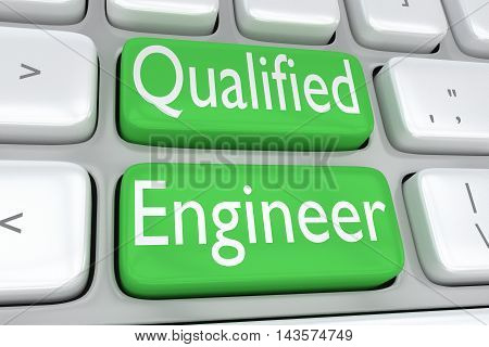 Qualified Engineer Concept