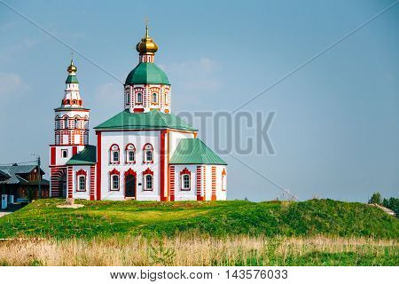 Church of Elijah the Prophet, Elias Church - church in Suzdal, Russia. Built in 1744. Golden Ring of Russia