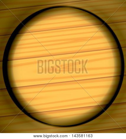 Scorched Ring Wooden Texture Background