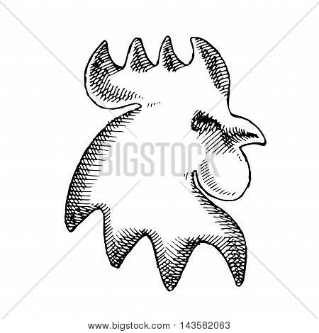Cock Vector Illustration