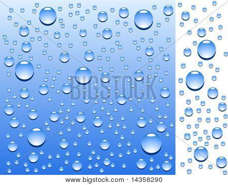 Blue wet surface. Vector illustration.