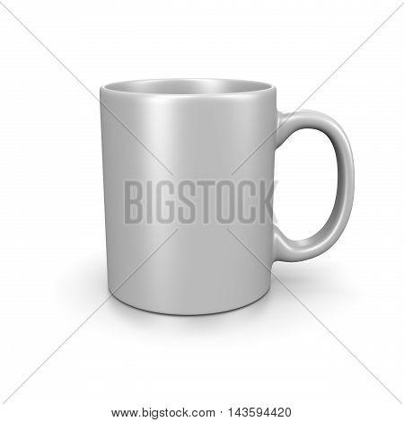White Mug On White