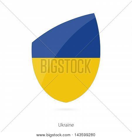 Flag Of Ukraine. Ukraine Rugby Flag.
