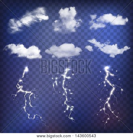 Sky creator with realistic clouds and thunderstorms.