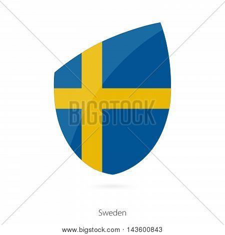 Flag Of Sweden. Sweden Rugby Flag.