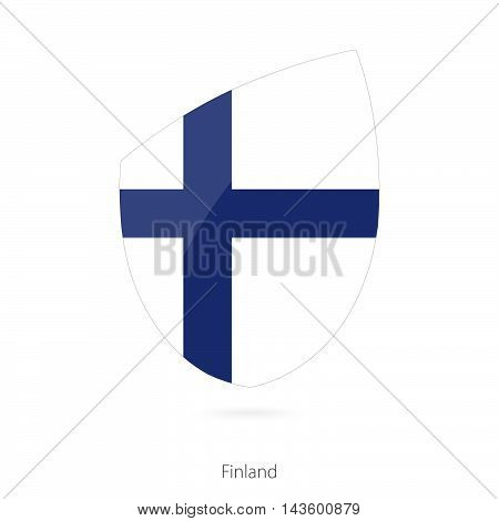 Flag Of Finland. Finland Rugby Flag.