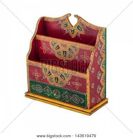 Indian stand handmade with decorative elements for house