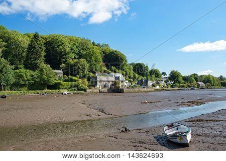 Low Tide At Lerryn