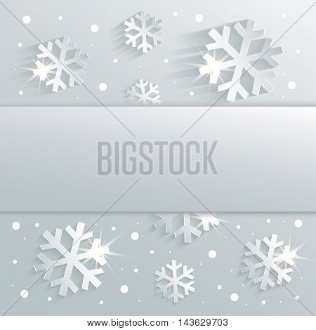christmas snowflake congratulations background blue raster blank template