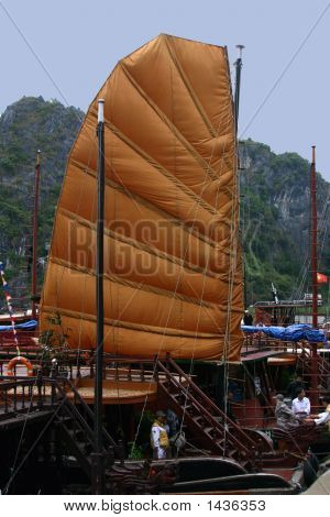 Vietnamese Sailing Ship