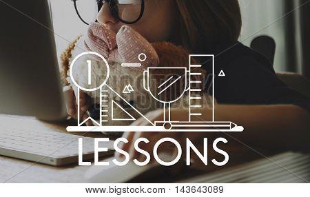 Knowledge Education Wisdom Literacy Graphic Concept