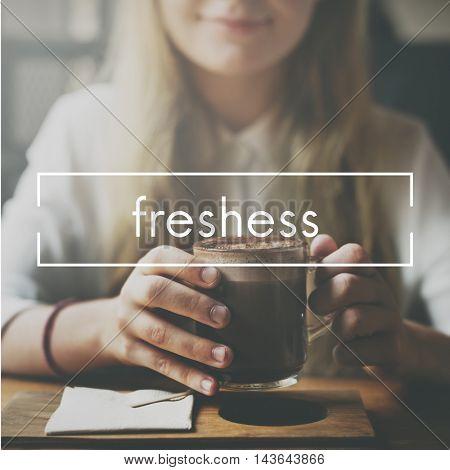 Freshness Freshen Refreshing Refreshment Vision Concept