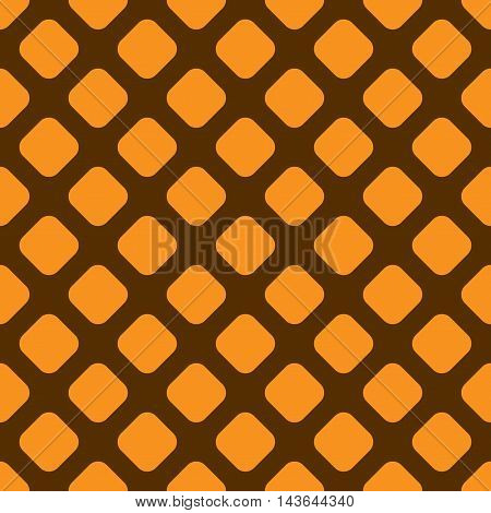 Rhombus geometric seamless pattern. Fashion graphic background design. Modern stylish abstract color texture. Template for prints textiles wrapping wallpaper website etc. Stock VECTOR illustration