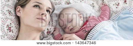 Mother And Infant Baby