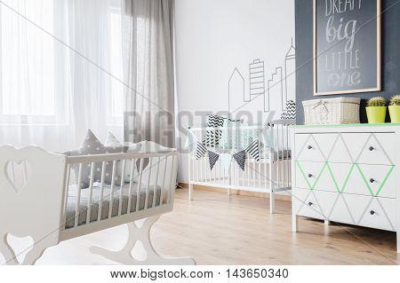 Newborn Baby Room Interior